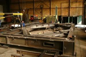 Ofenbühne / Furnace platform