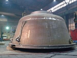 Bleikessel / Lead melting cauldron