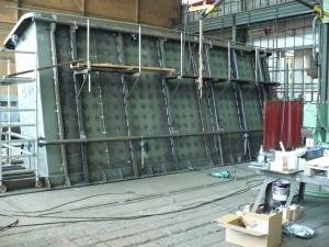 Füllschacht / Part of a waste feed chute