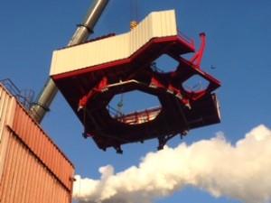 Umwandlung Regenerationsofen  Beiz Abteilung / Rebuilding regeneration furnace pickling line