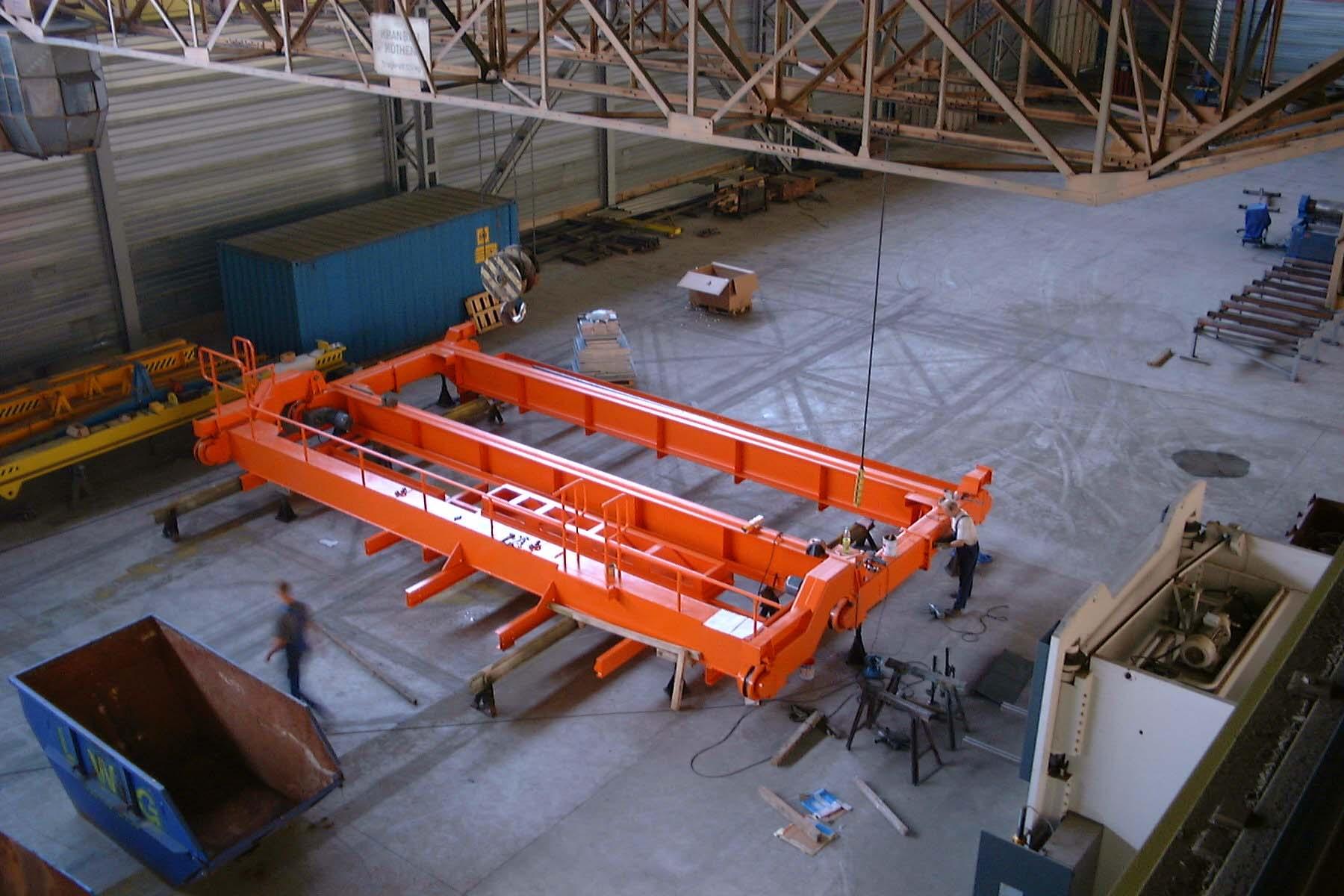 Krananlage / Crane system