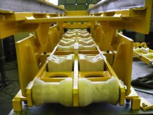Walzenwechselvorrichtung / Roll changing gear