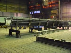 Absticherinne / Liquid steel gutter