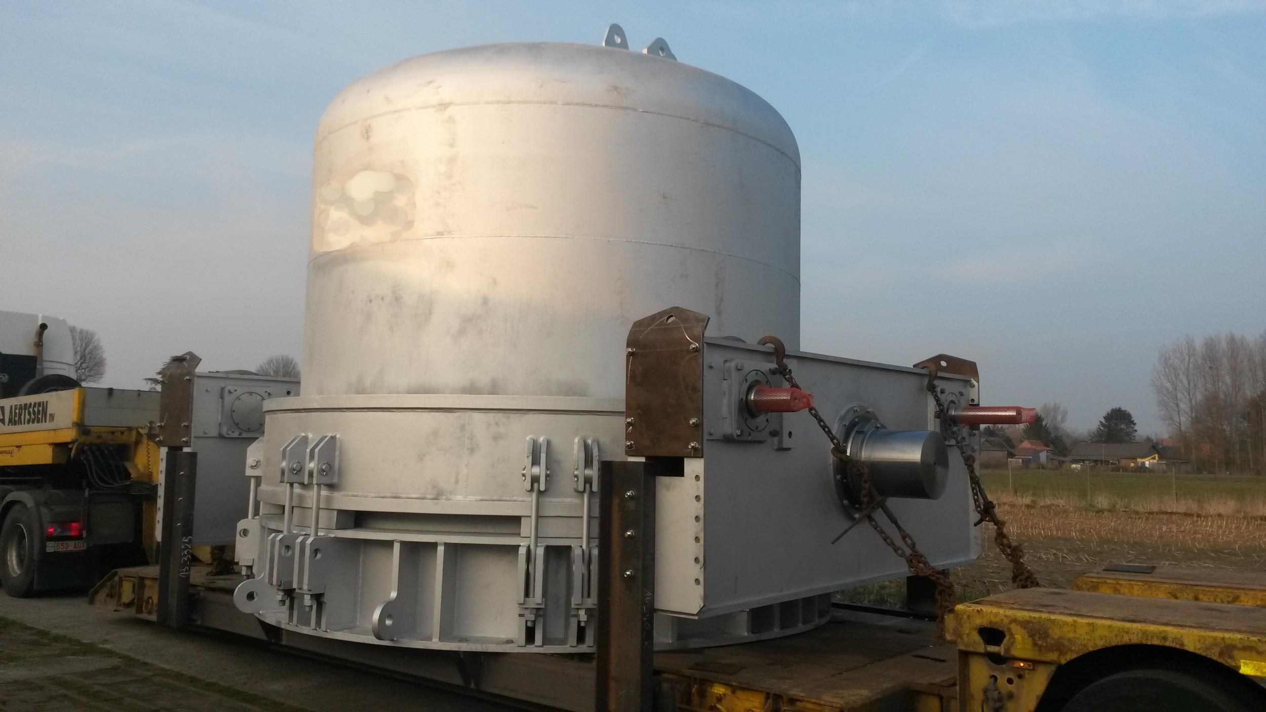 Raffinationsöfen / Refining furnace