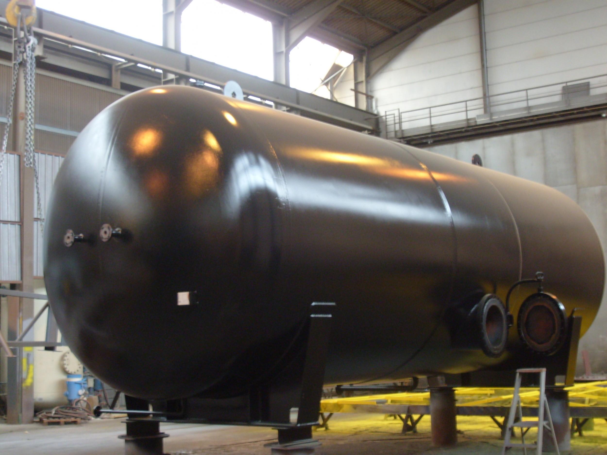 Druckbehälter Stickstoff / High pressure vessel for Nitrogen