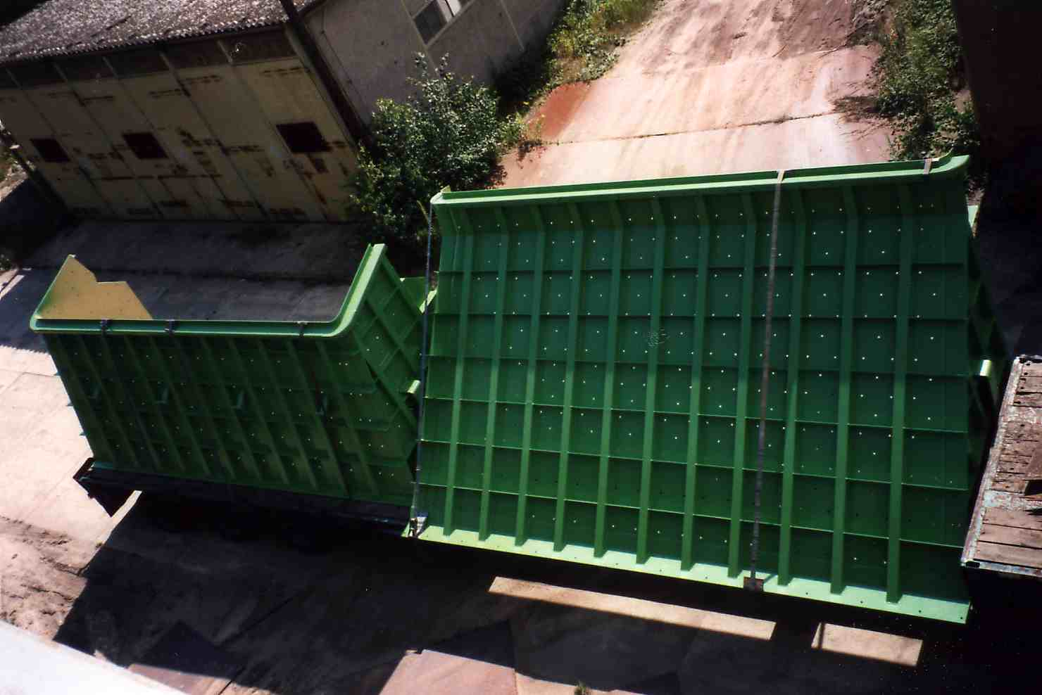 Trichter Füllschacht / Feed chute parts - transport