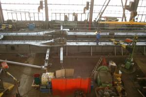 Ausleger Fertigung / Boom in production