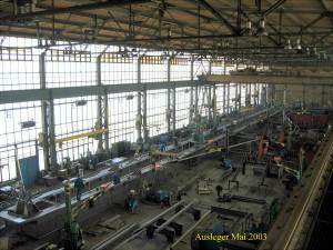 Ausleger - Fertigung / Boom in production