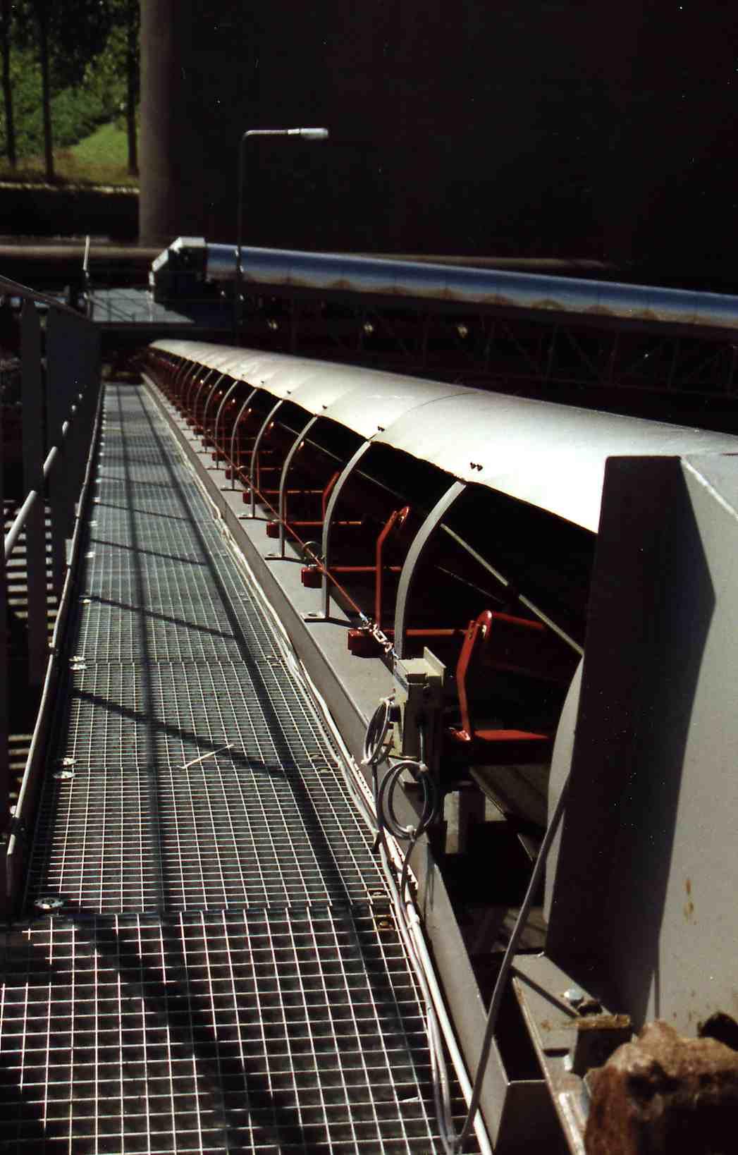 Bandbrücke / Conveyor bridge