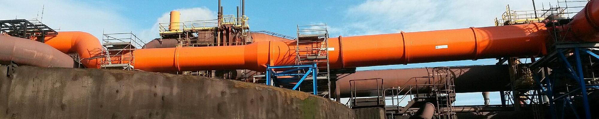 Hochofengasleitung