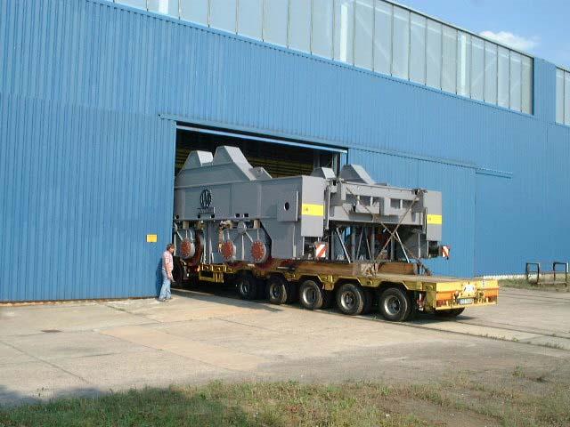 Pfannentransportwagen / Ladle transfer car