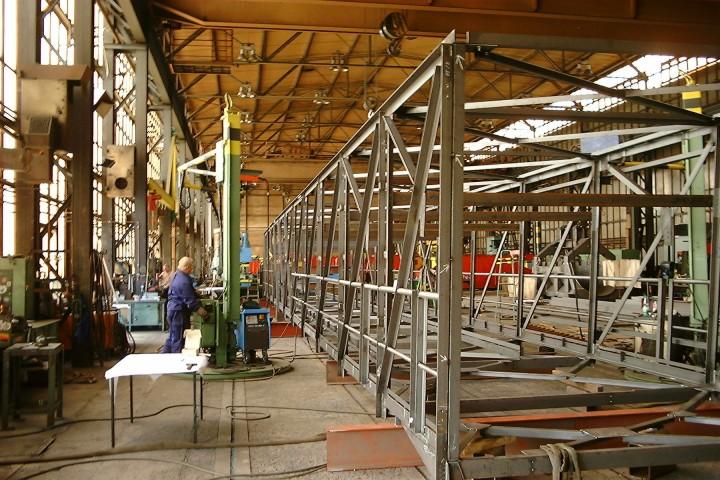 Bandanlagen für Stahlwerke / Conveyor system for a steel mill