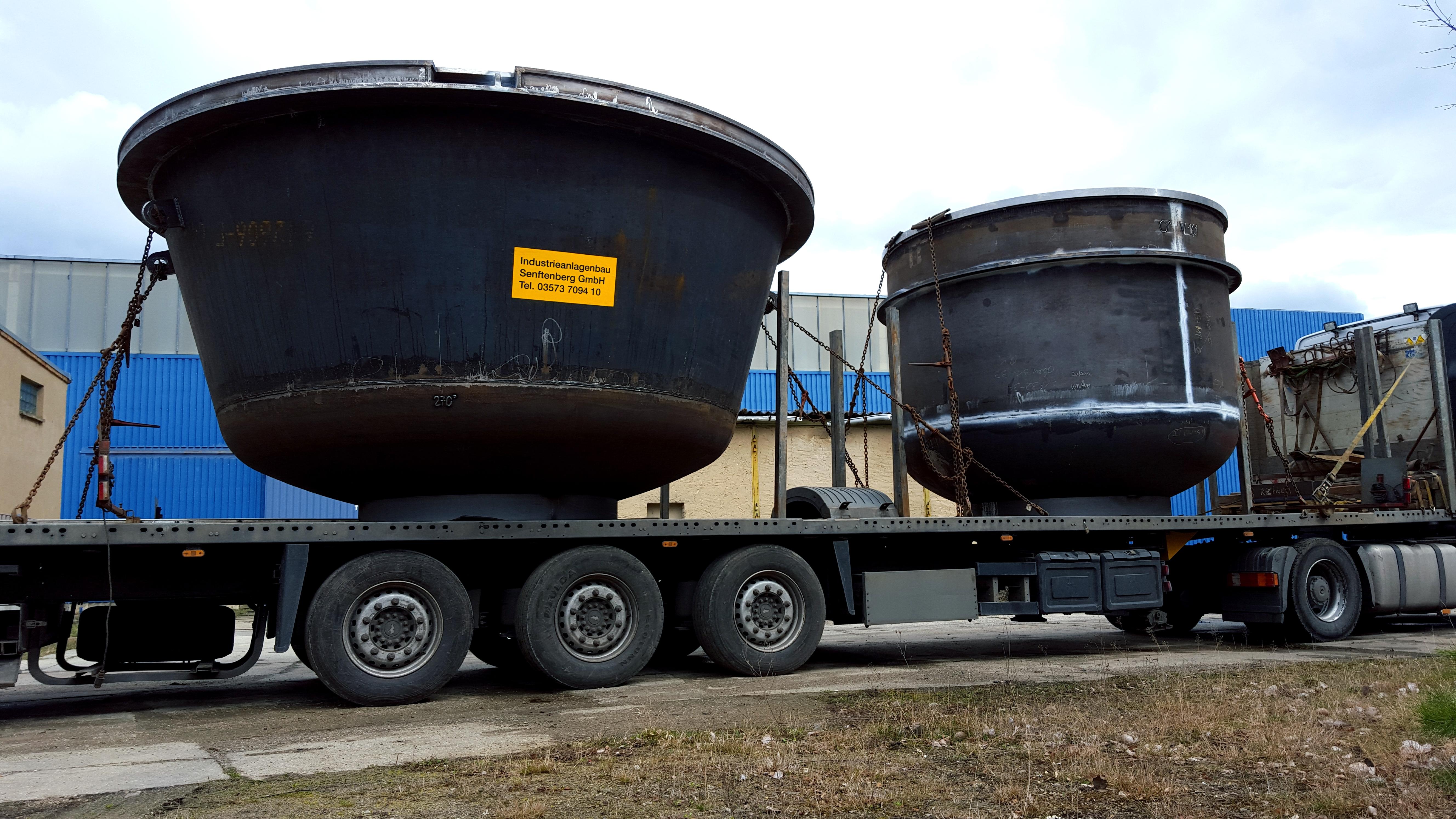 Verdampfungskessel und Bleikessel - LKW