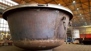 Verdampfungskessel und Bleikessel - Werkstatt